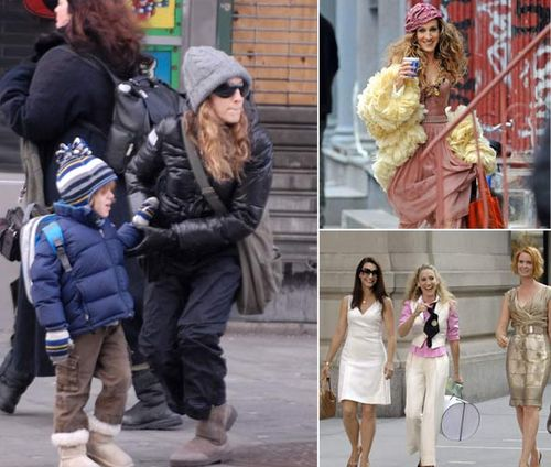 Sjp in uggs.son james
